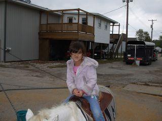 Maria Rogers Rides a Pony