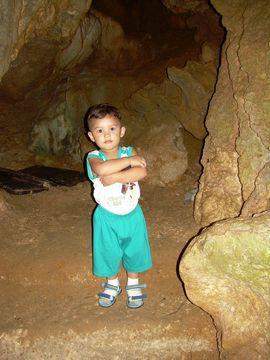 Dave in cave 1 DSCN1336
