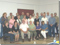 The Class with the Tuckers 2008